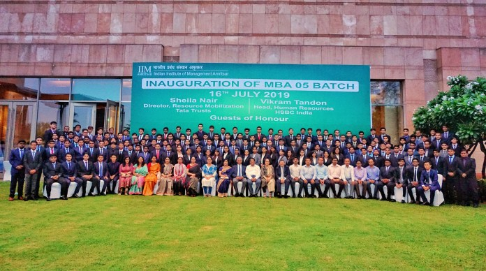 IIM Amritsar PGP 05 batch represents 24 states of India - Dare2Compete
