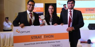Fighting the case battle against all odds National Winners of Optum Stratethon