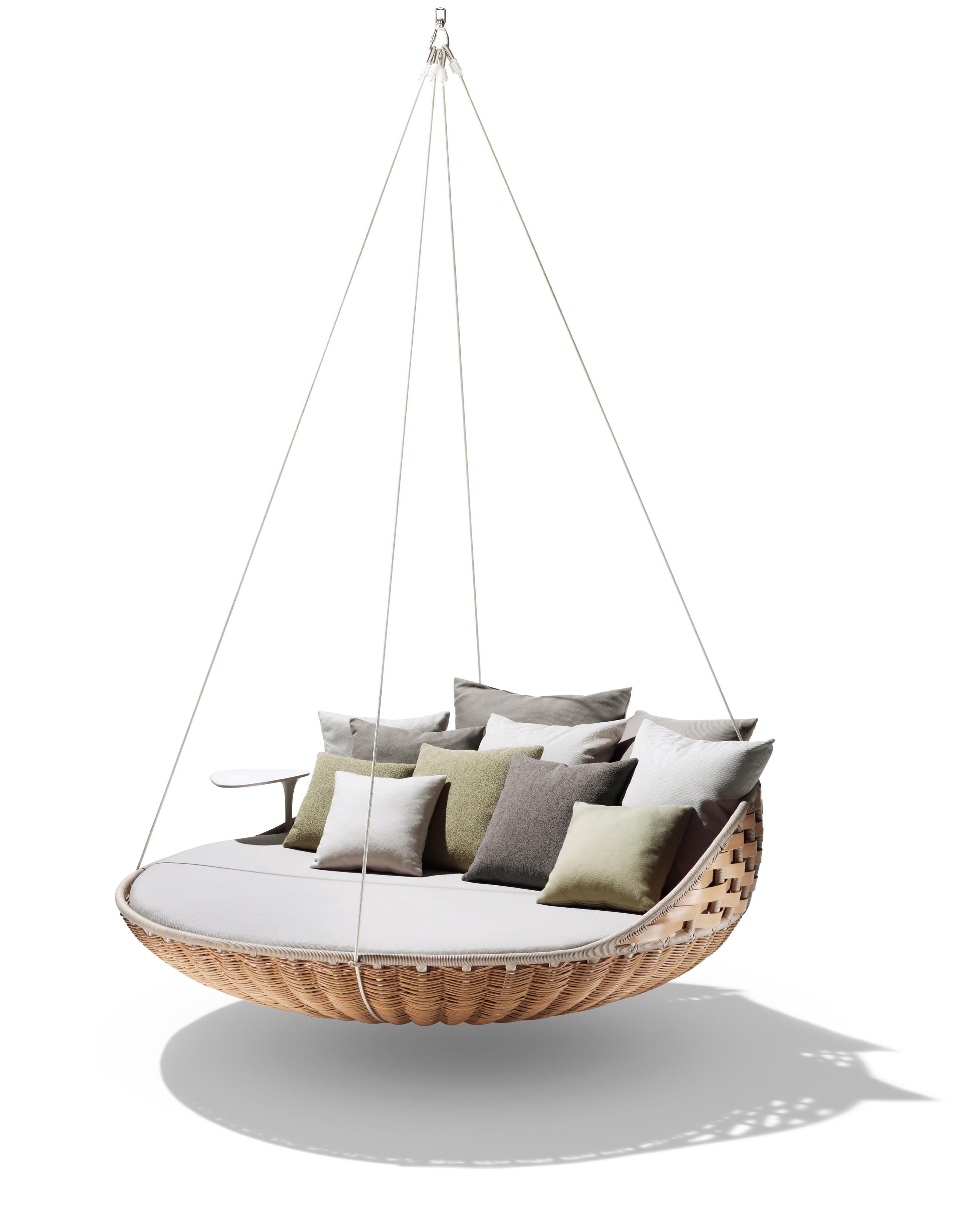 chair swing vienna hair dryer salon chairs buy the dedon swingrest hanging lounger sofa at deplain