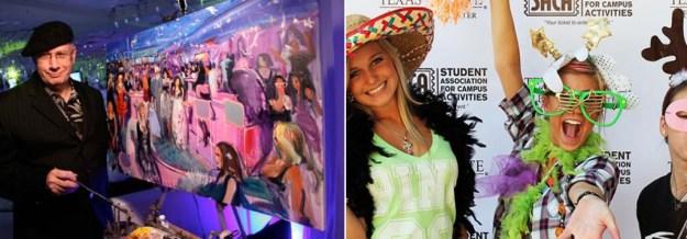 Left Photo Credit: Party Painter   Right Photo Credit: iLove Team