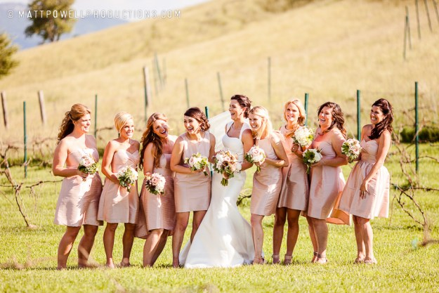 Bridesmaids | Wedding | Banner Elk, NC