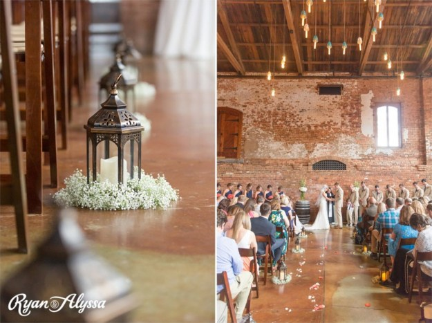Ryan and Alyssa Photography | Greenville, SC | Old Cigar Warehouse Wedding