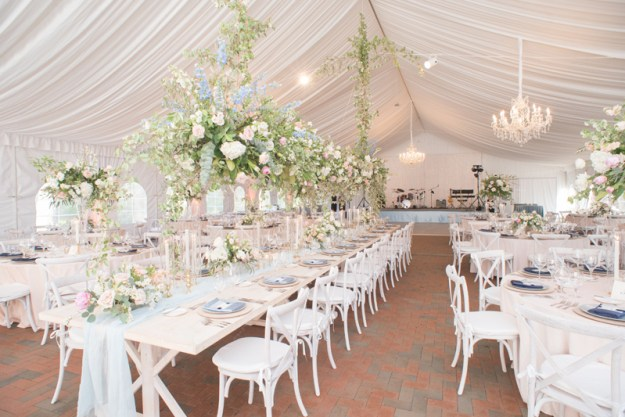 Tented reception at Diana at Biltmore