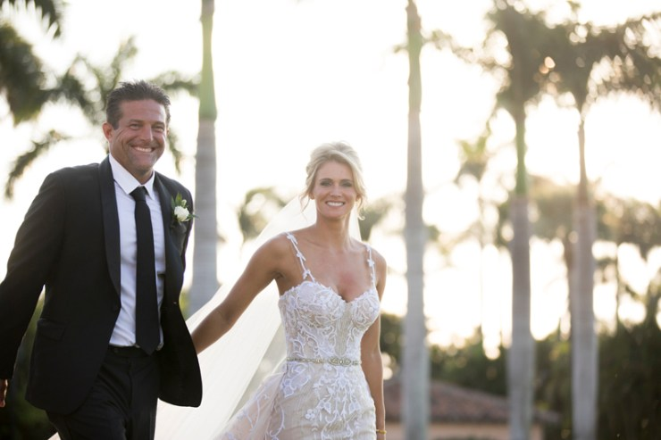 Couple getting married at Mar-a-Lago in Palm Beach.