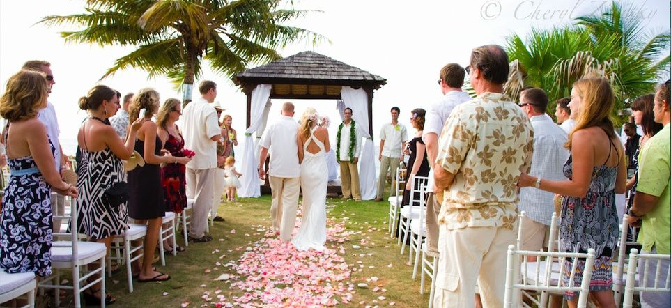 wedding at villa montana beach resort
