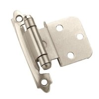 Amerock 3/8 inch Inset Hinge Satin Nickel-Sold Per Pair ...