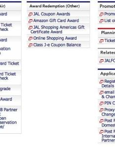 Search for jal award seats online also how to book japan airlines awards rh rewardexpert