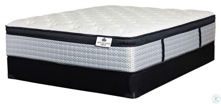 passions holloway firm euro top queen size mattress with foundation