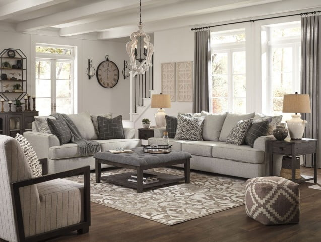 Velletri Pewter Living Room Set From Ashley Coleman Furniture