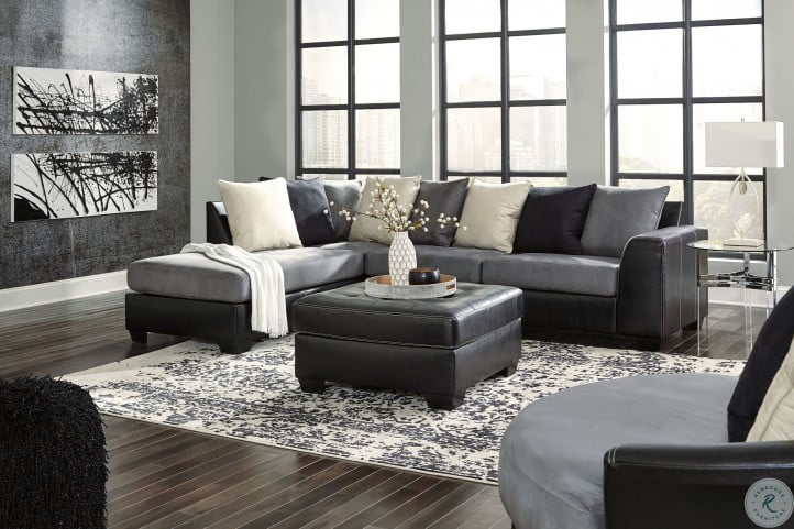 jacurso charcoal laf sectional