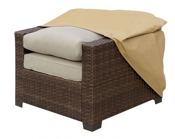 large chair covers for sale college dorm boyle light brown dust cover from furniture of america
