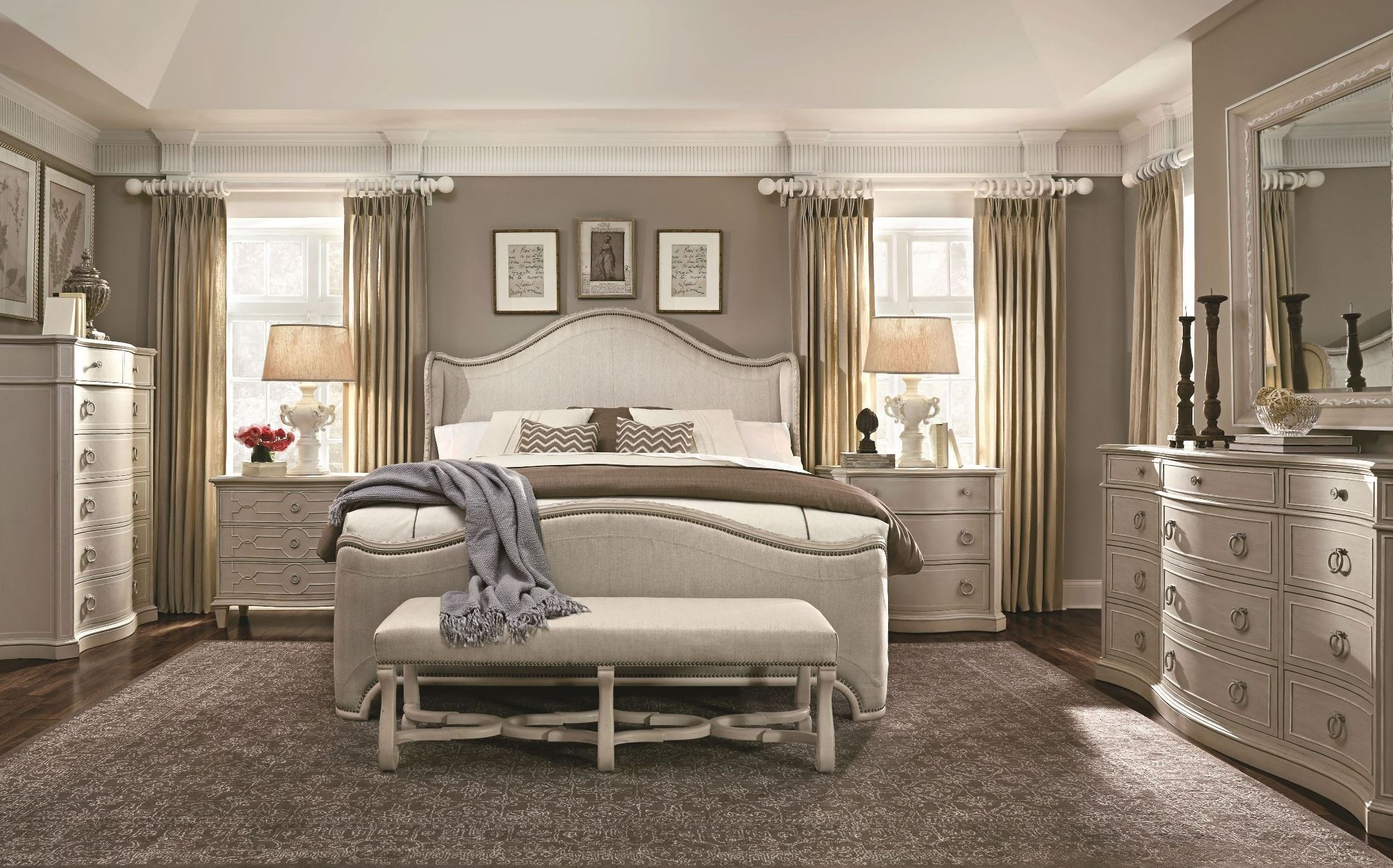 grey bedroom chair next power wheelchair batteries medicare chateaux upholstered shelter set from art