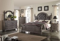Monticello Dark Gray Poster Bedroom Set from New Classic ...