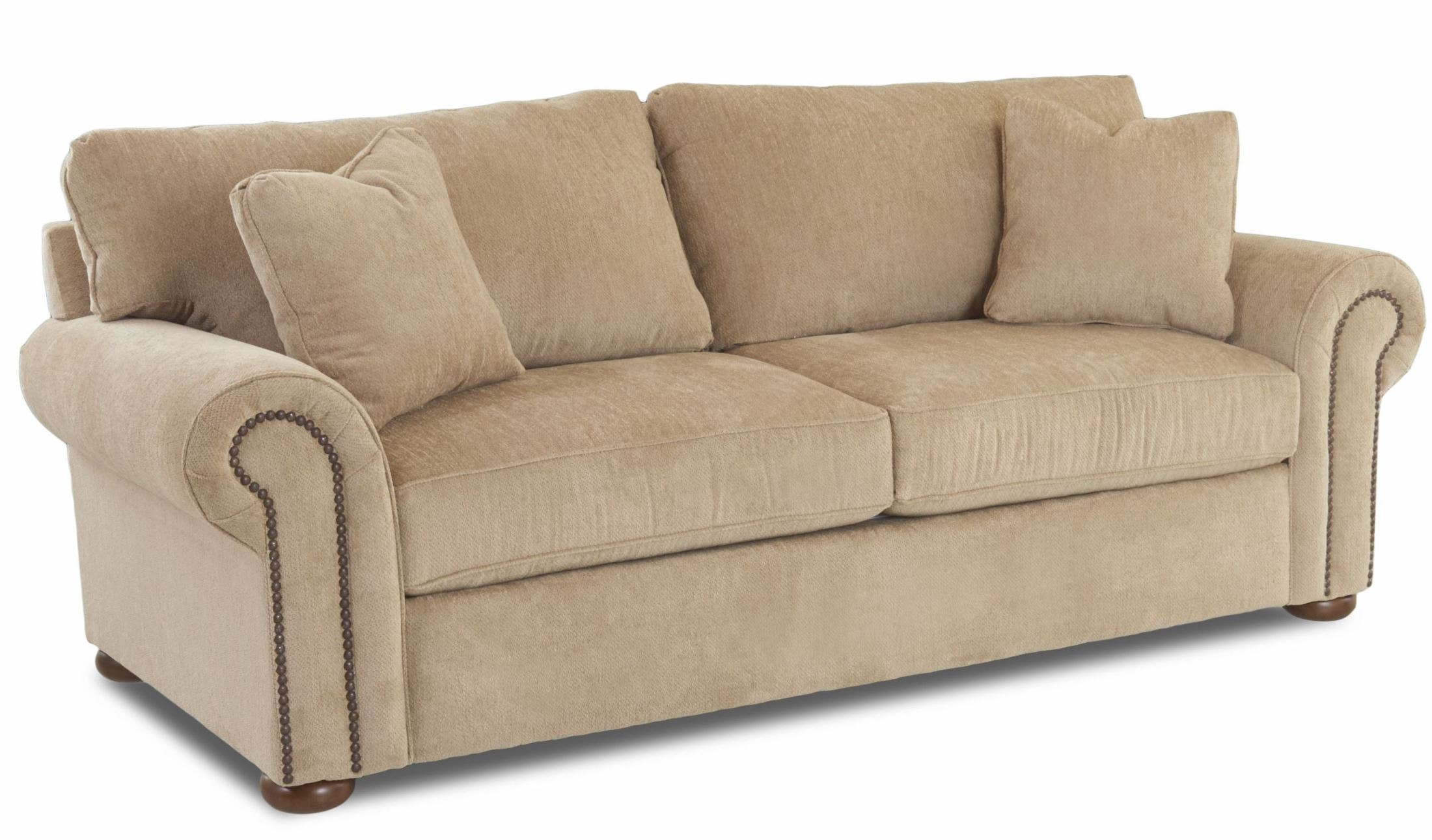 oatmeal sofa leather singapore cheap sienna furby from klaussner coleman furniture