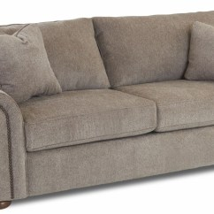 Sienna Sofa 5 Piece Sectional With Recliner Pewter Furby From Klaussner Coleman Furniture