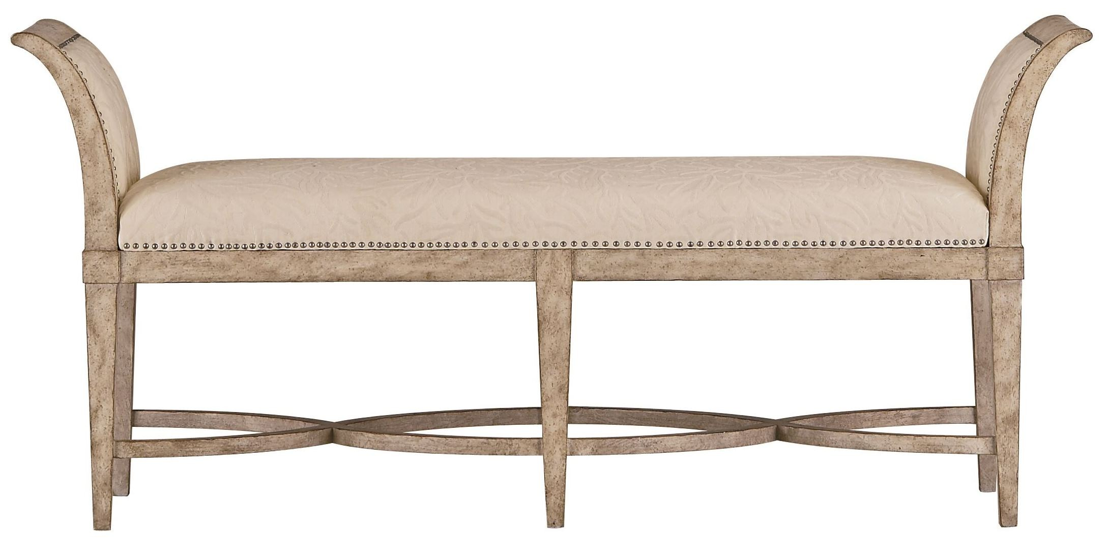 chairs for the end of your bed replacement patio chair cushions canada coastal living resort sandy linen surfside bench