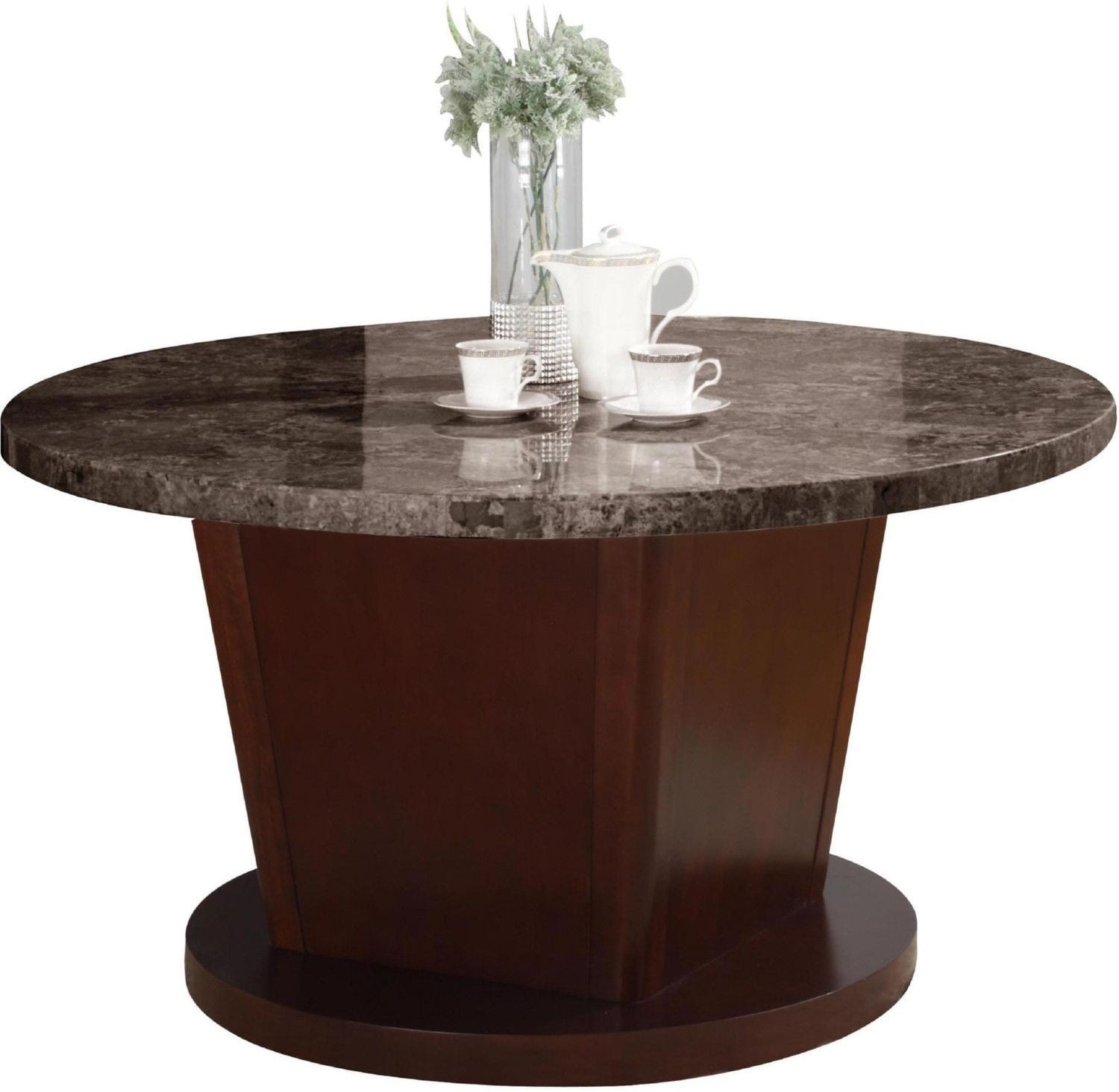 round marble table and chairs folding chair deals danville black walnut dining from