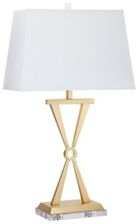 Brass Lighting CFL Table Lamp from Cyan Design | Coleman ...