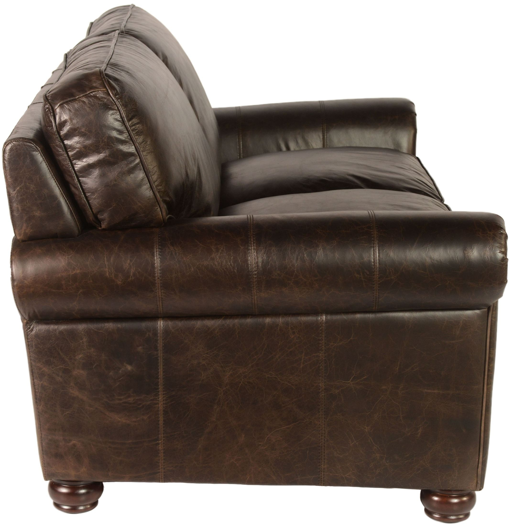 next brompton leather sofa wooden models in india genesis chocolate from lazzaro wh