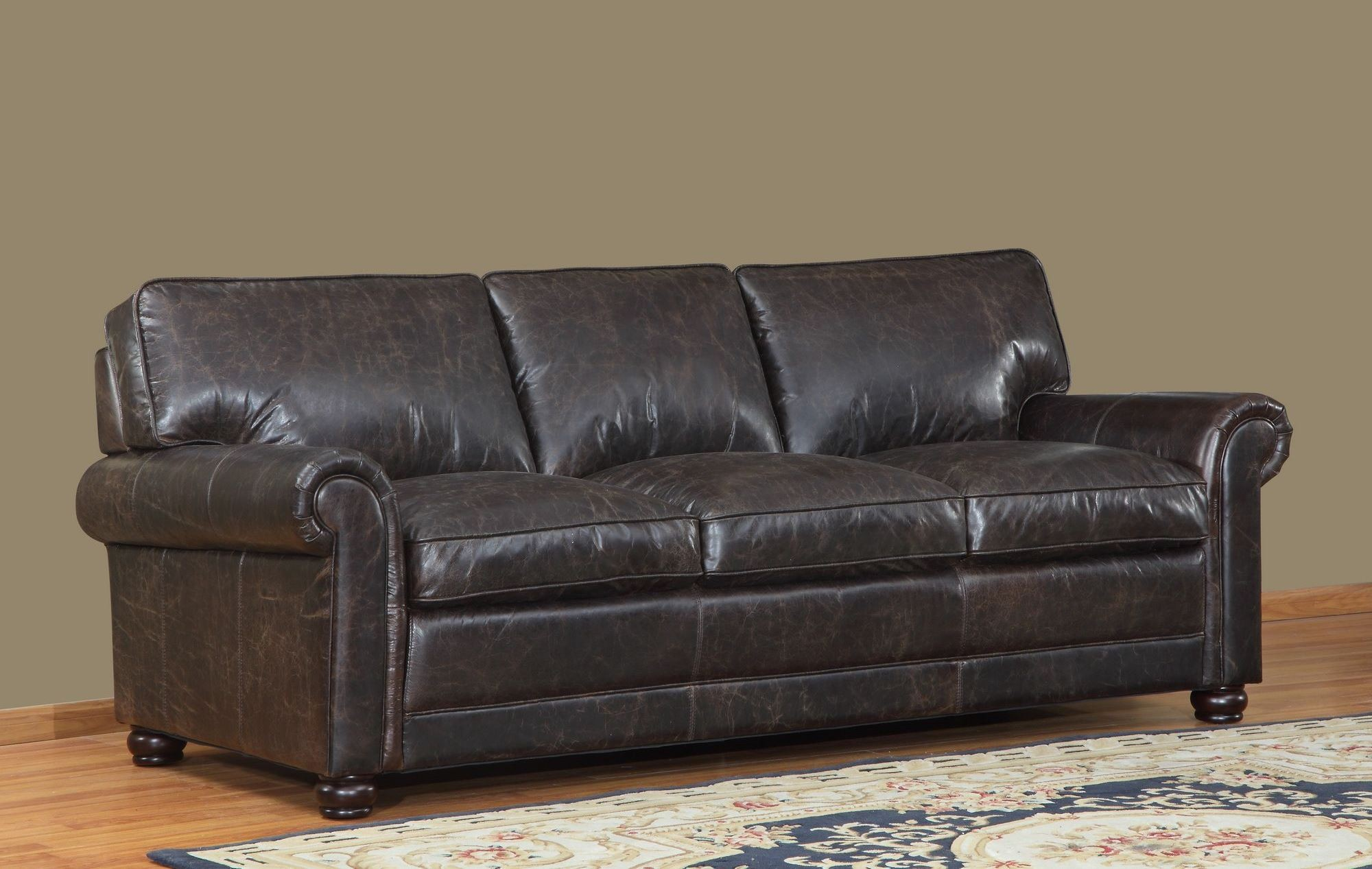 next brompton leather sofa single seater beds uk genesis chocolate from lazzaro wh