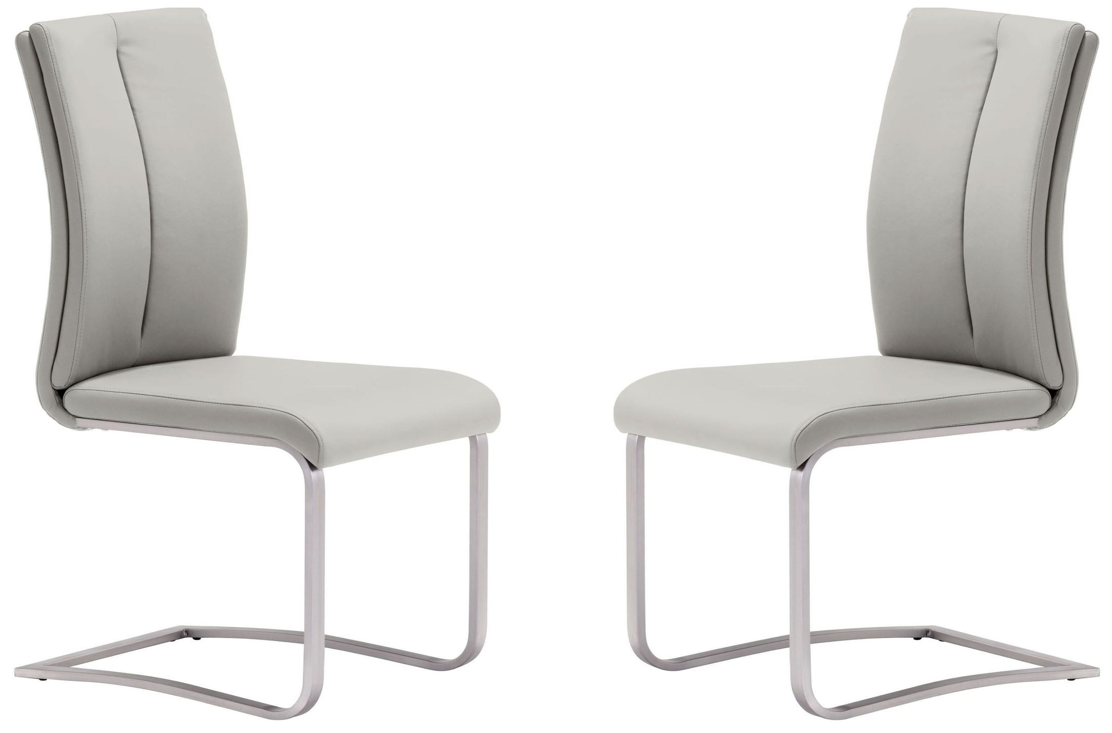 Taupe Dining Chairs Rosemont Taupe Dining Chair Set Of 2 From Zuo Mod 100139