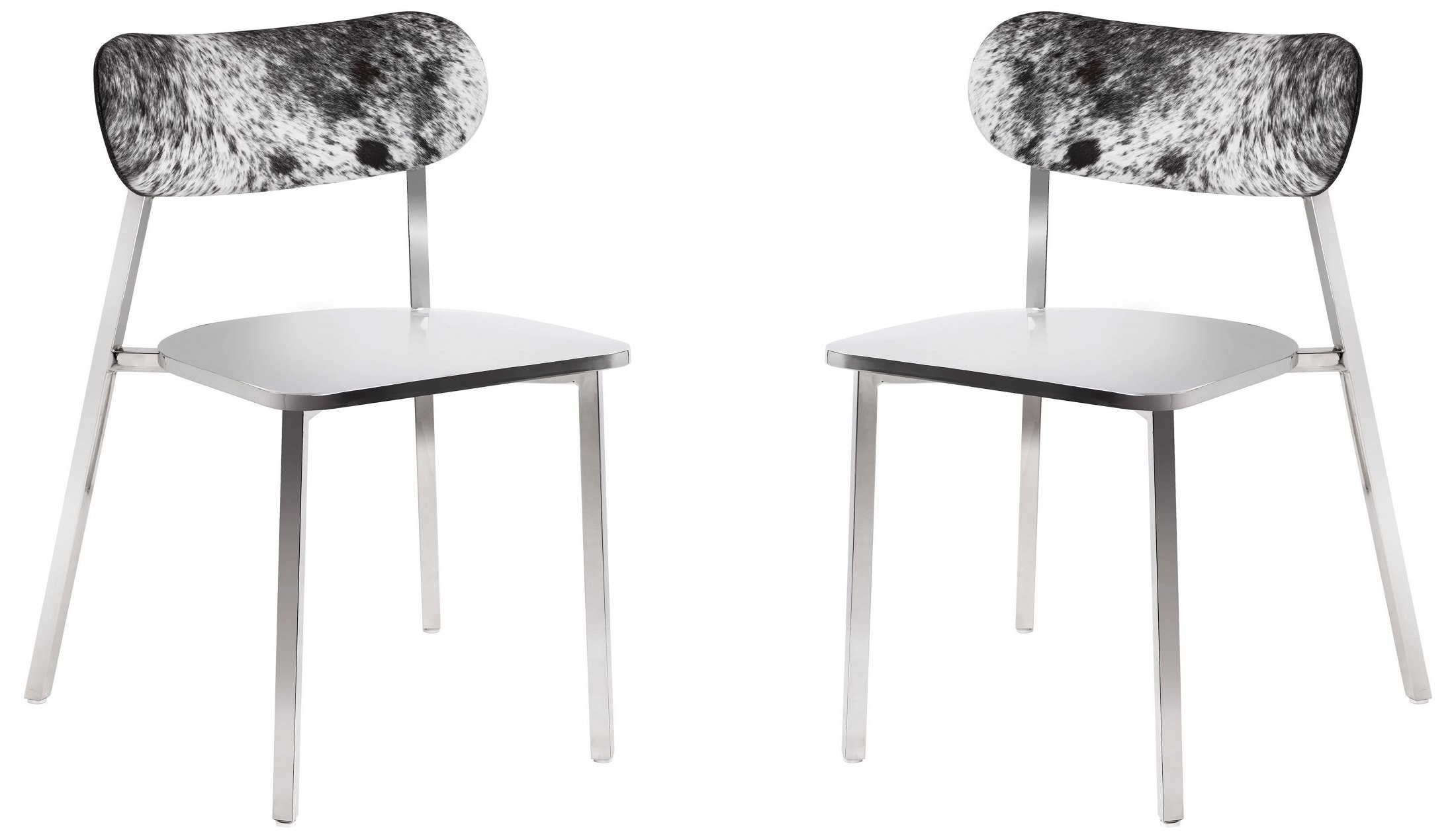 Stanley Cowhide Back Dining Chair Set of 2 from Sunpan