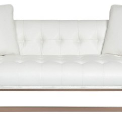 Gold Leather Sofa Set Best Pet Cover For Matisse White From Sunpan Coleman Furniture