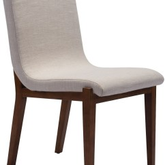 Beige Dining Chairs How To Make A Chair Cover For Wedding Hamilton Set Of 2 From Zuo Coleman