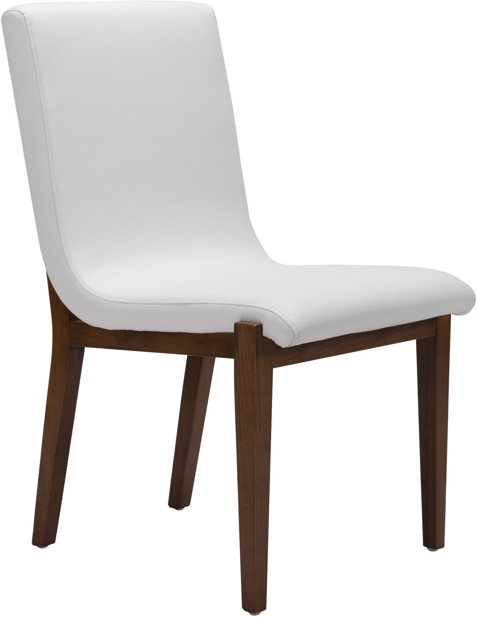 Hamilton White Dining Chair Set of 2 from Zuo  Coleman
