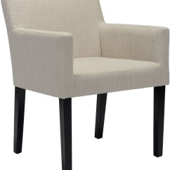 Beige Dining Chairs Swing Chair Perth Franklin Set Of 2 From Zuo Coleman