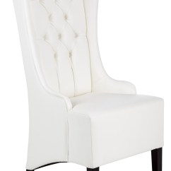 White Leather Chairs Dining Tell City Pattern 4620 Napa Chair From Sunpan Coleman