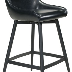 Zuo Swivel Chair Pyramat Gaming Dresden Black Bar Set Of 2 From Coleman Furniture
