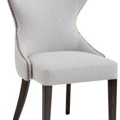 Chair With Light Gym Ebay Ariana Grey Fabric Dining 101150 Sunpan
