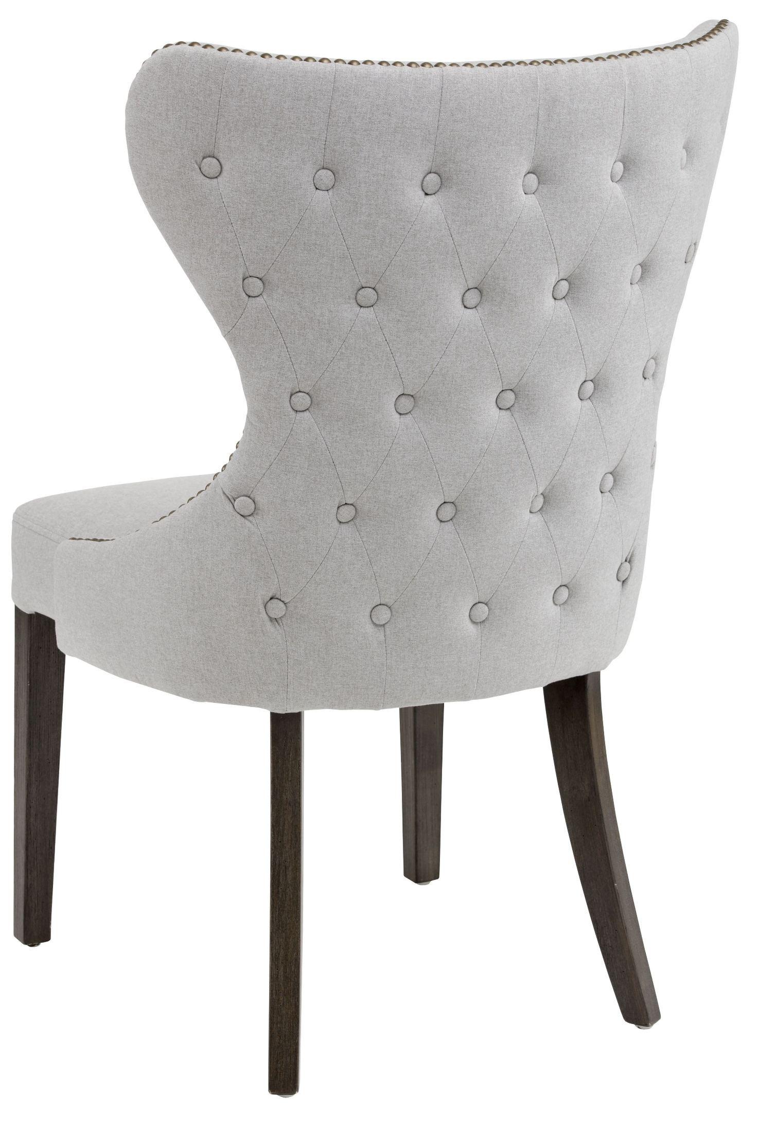 gray dining chair fabric lawn chairs ariana light grey 101150 sunpan