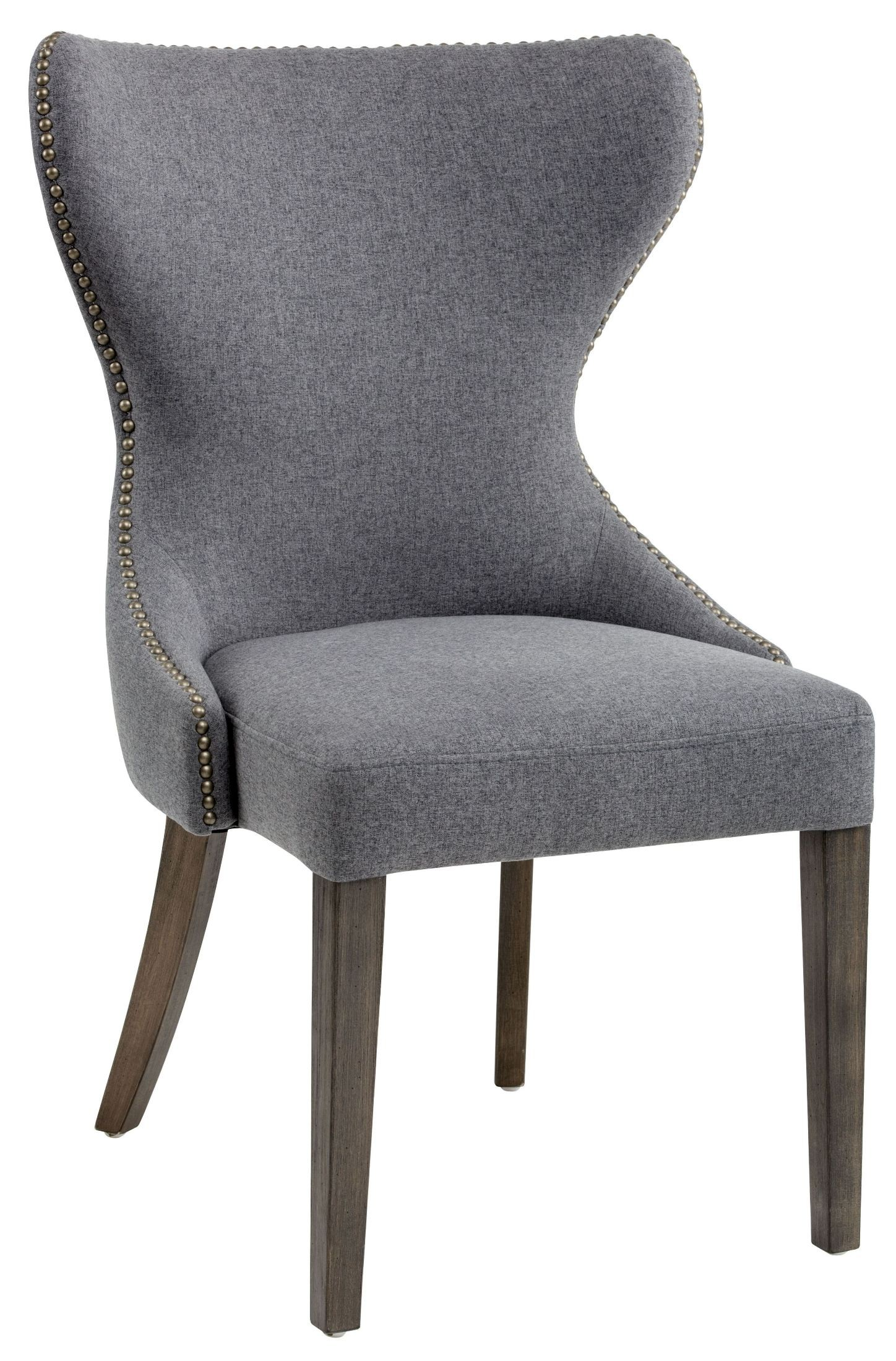 Gray Kitchen Chairs Ariana Dark Grey Fabric Dining Chair From Sunpan Coleman