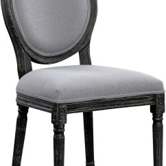 Grey Upholstered Chair Comfortable Chairs For Bedrooms Dining Set Of 2 By Scott Living