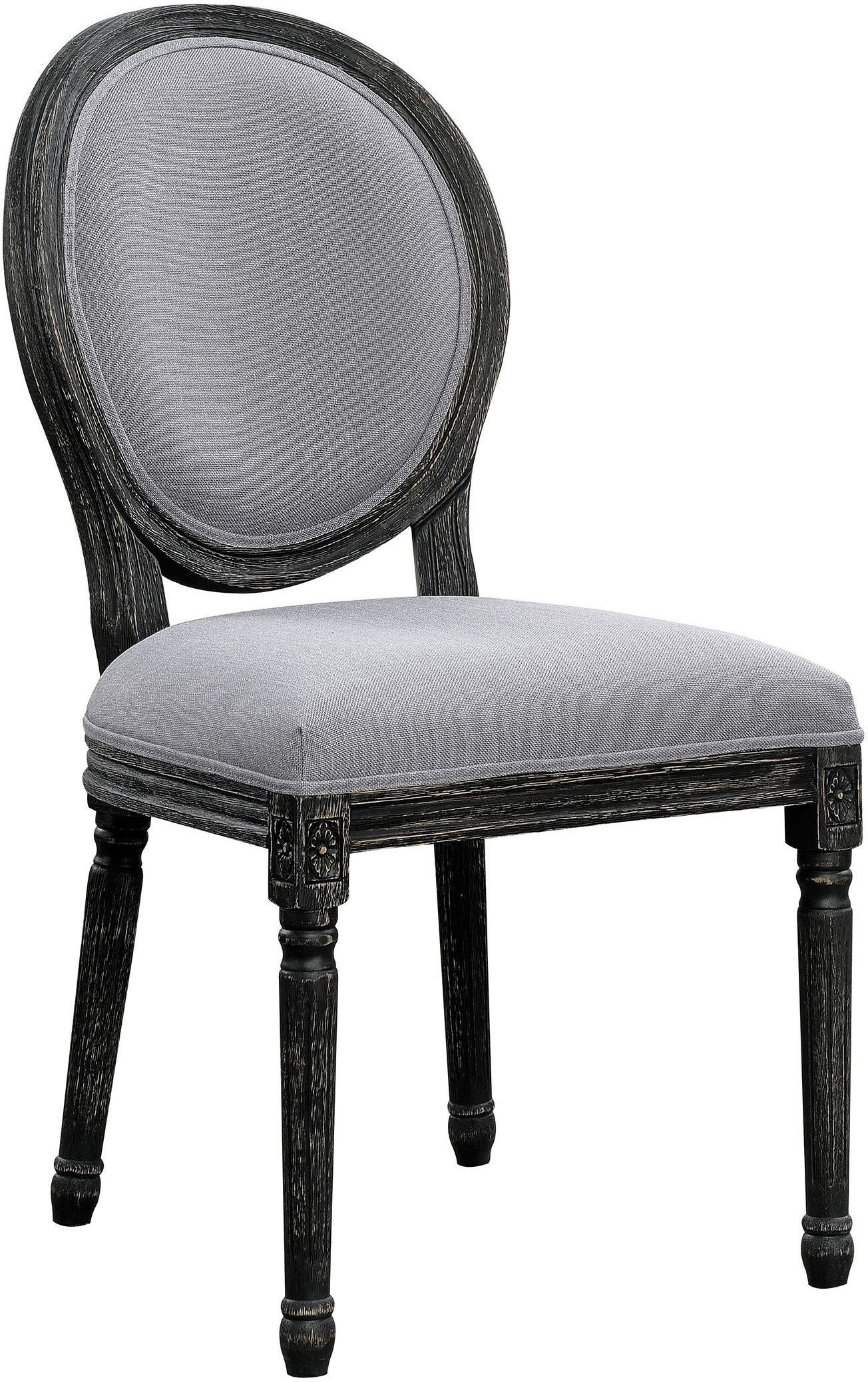 Grey Upholstered Chair Grey Upholstered Dining Chair Set Of 2 By Scott Living