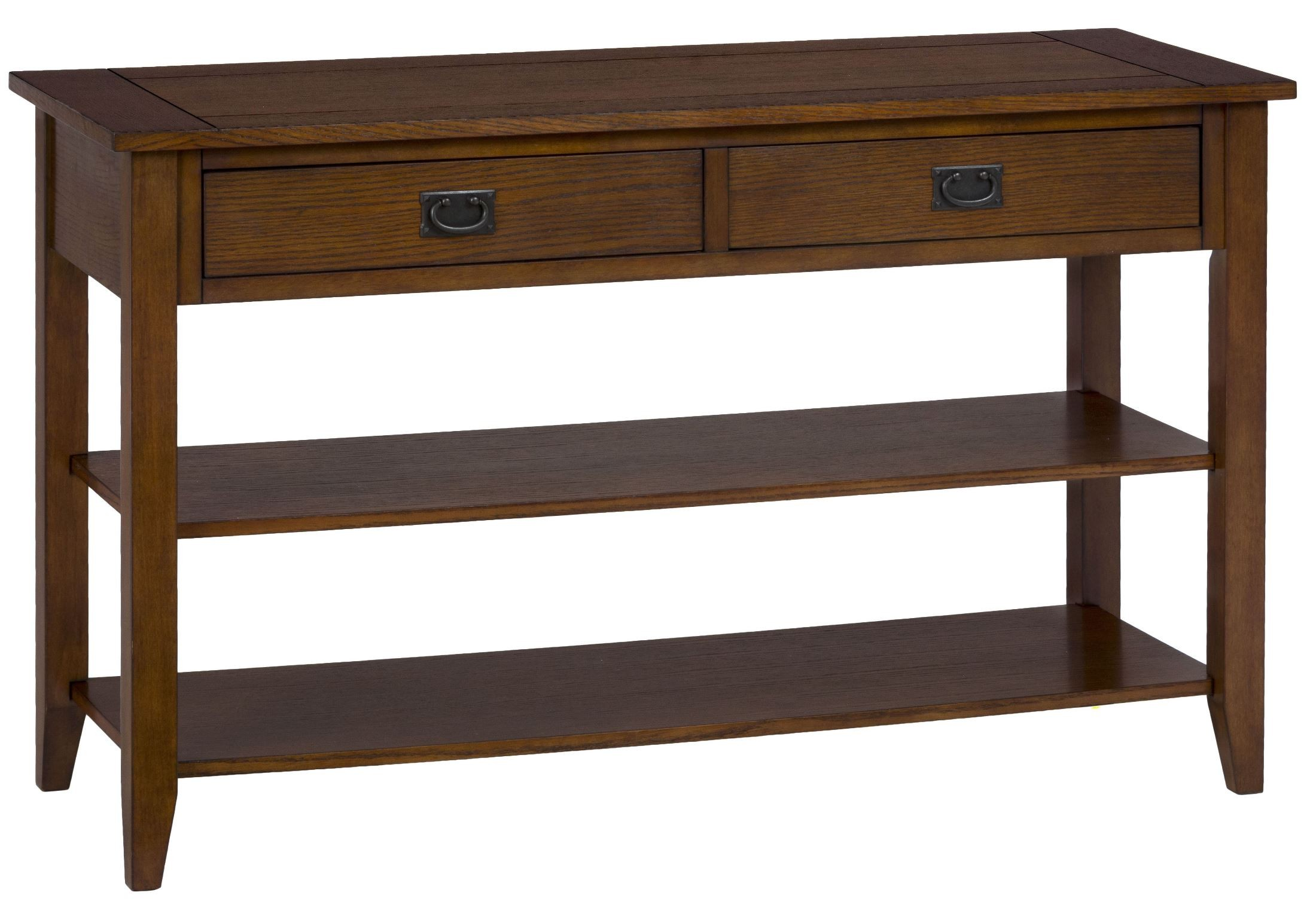 mission style oak sofa table small plans 1032 4 jofran
