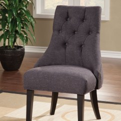 Grey Parsons Chair Baby Feeding High In Sri Lanka Parson Accent From Coaster 104034 Coleman