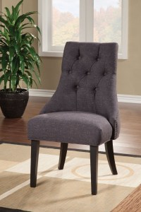 Parson Grey Accent Chair from Coaster (104034) | Coleman ...