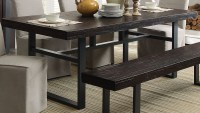 Keller Reclaimed Wood Dining Table, 106941, Coaster Furniture