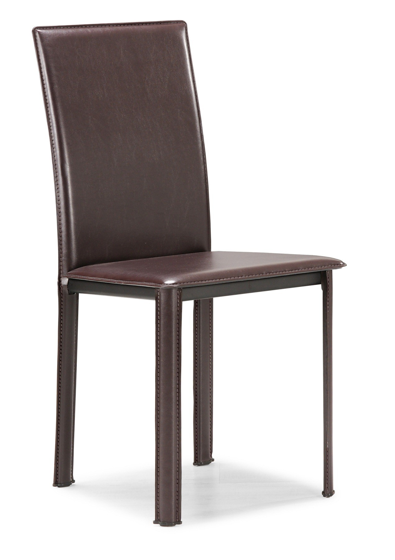 espresso dining chair pub height chairs target zuo modern arcane 107306
