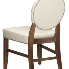 Ivory Leather Office Chair Unique Desk Chairs Florence Dining Rl Set Of 2 11096