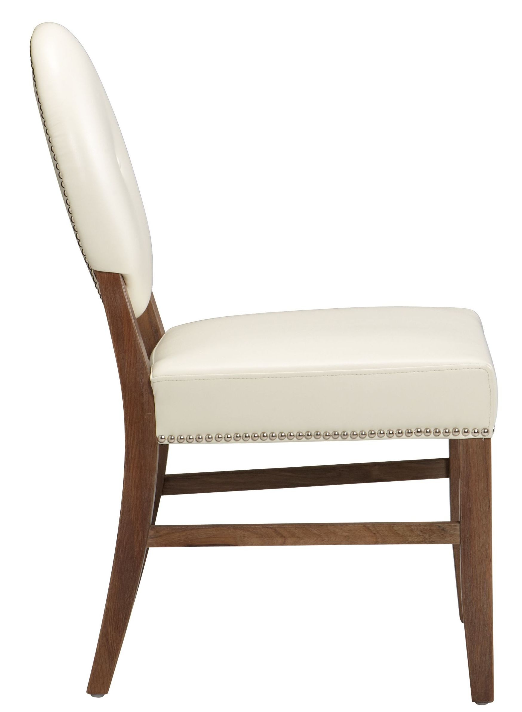 Ivory Dining Chairs Florence Ivory Leather Dining Chair Rl Set Of 2 11096 Rl