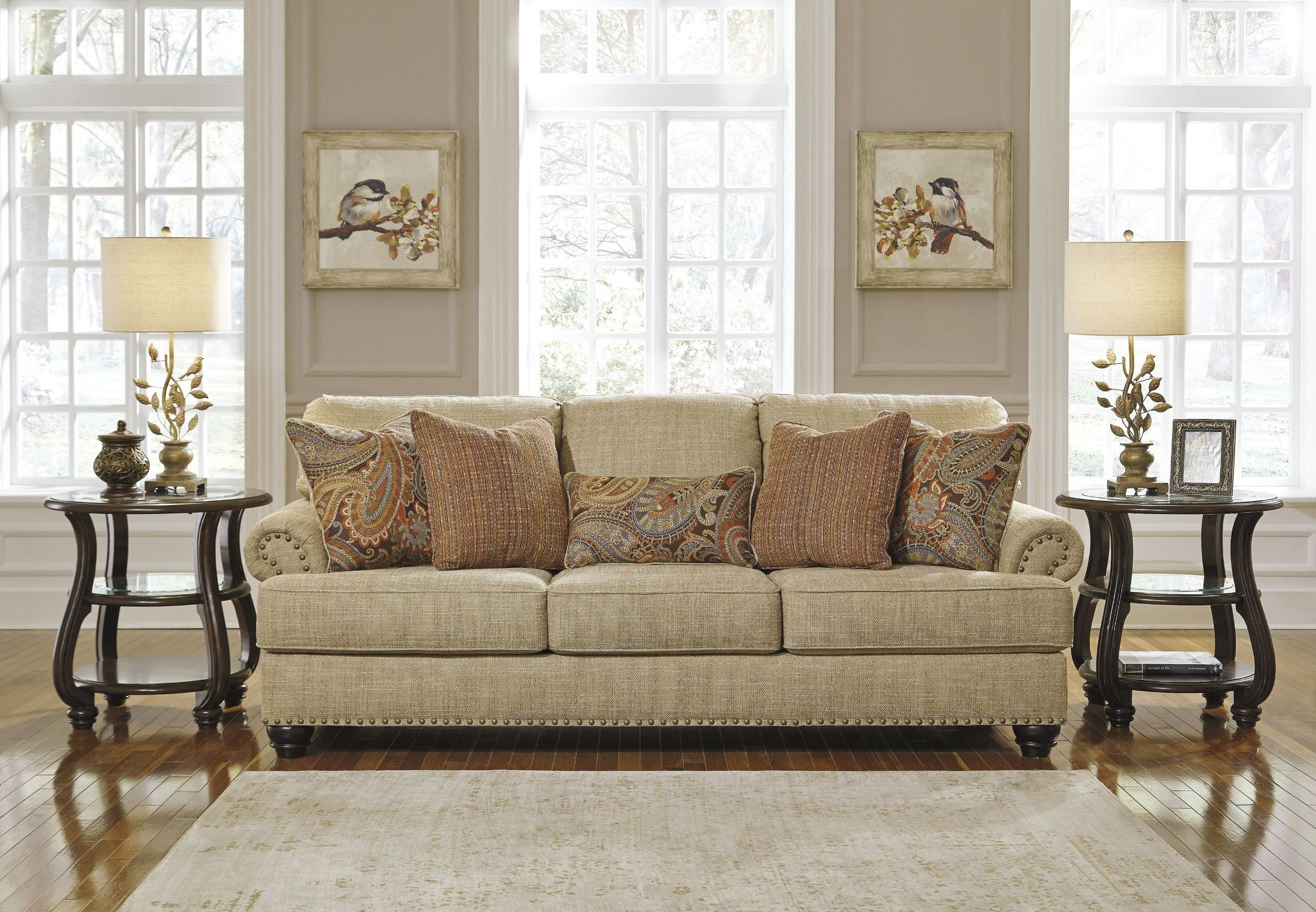 oatmeal sofa set city evansville in hours candoro from ashley coleman furniture
