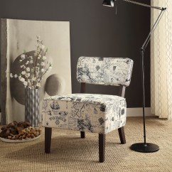 Grey And White Accent Chair Small Chairs Orson Gray From Homelegance