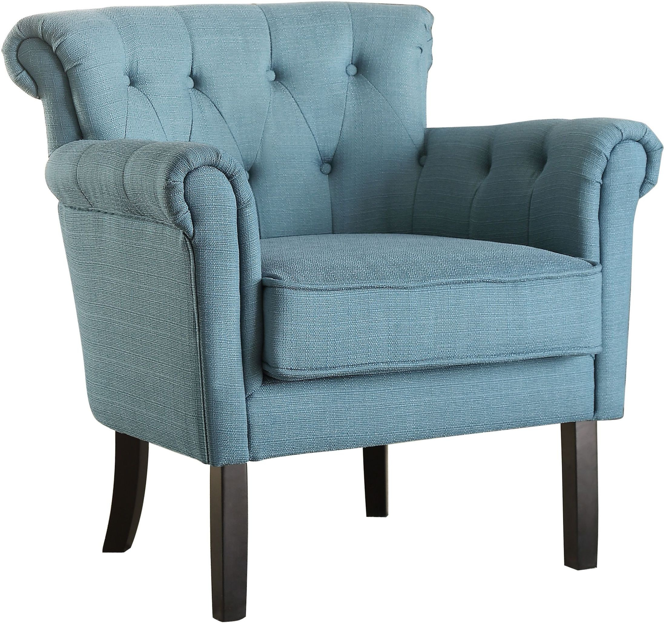 Barlowe Dark Teal Accent Chair from Homelegance  Coleman