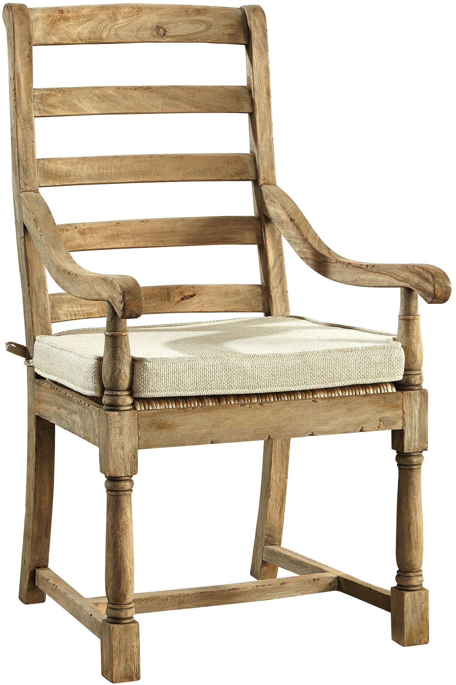 Driftwood Chair Mango Driftwood Arm Chair Set Of 2 From Furniture Classics