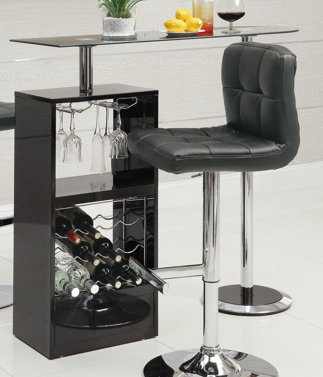 revolving chair manufacturer in nagpur universal design black bar table 120451 from coaster