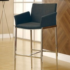 Bar Stool Chair Grey Resin Recliner 120727 Set Of 2 From Coaster